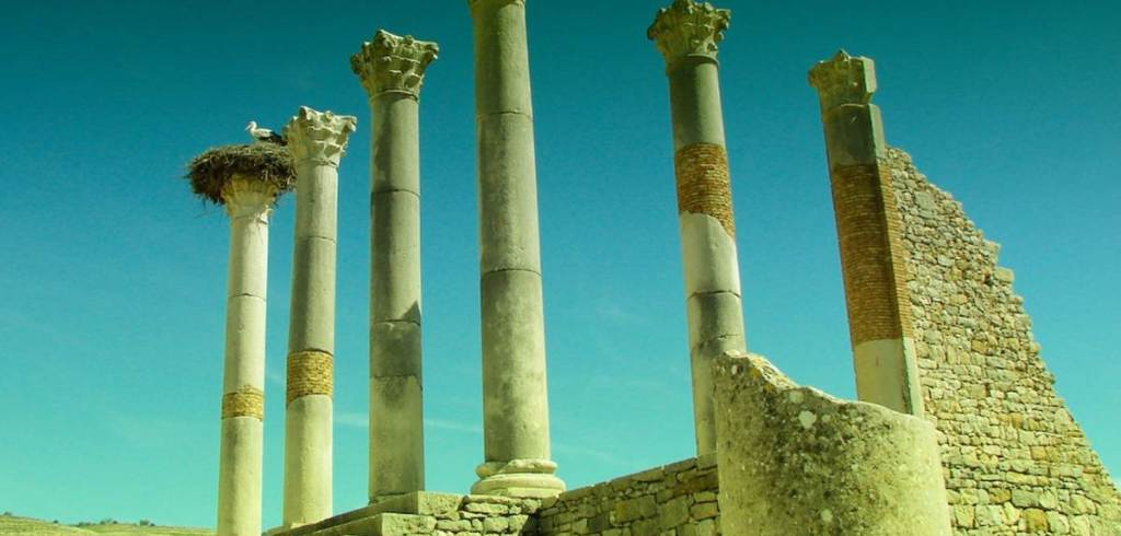 Ancient Roman site of Volubilis